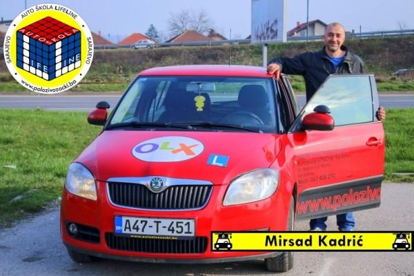 instruktor mirsad kadric life line auto skola sarajevo