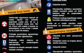 Kako se ponašati na autocesti: Šta ne smijete, šta je dozvoljeno, a šta morate
