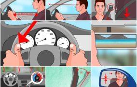 Kako se pravilno pripremiti za vožnju? Animirani prikaz + Video